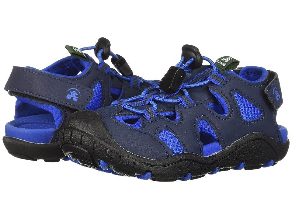 Kamik Kids Oyster 2 (Toddler/Little Kid/Big Kid) (Navy) Boys Shoes
