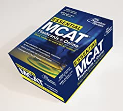 Essential MCAT: Flashcards + Online: Quick Review for Every MCAT Subject (Graduate School Test Preparation)