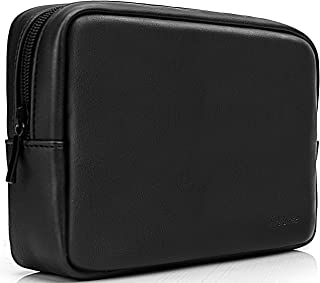 ProCase Accessories Bag Organizer Power Bank Case Electronics Accessory Travel Gear Organize Case Cable Management Hard Drive Bag -Black