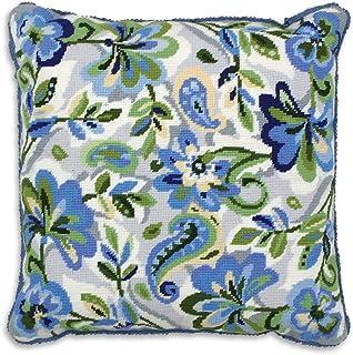 Anchor ALR04 Kit de Tapisserie Motif Cachemire Floral/Bleu, Multicolore, One