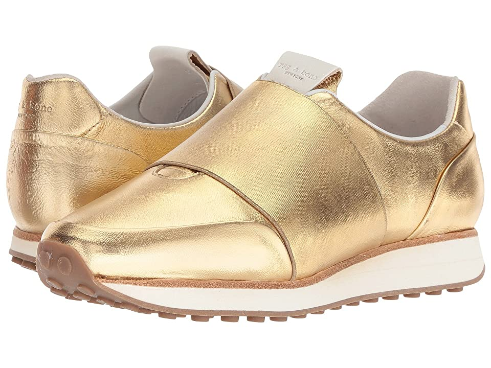 rag & bone Dylan Elastic Runner (Gold) Women