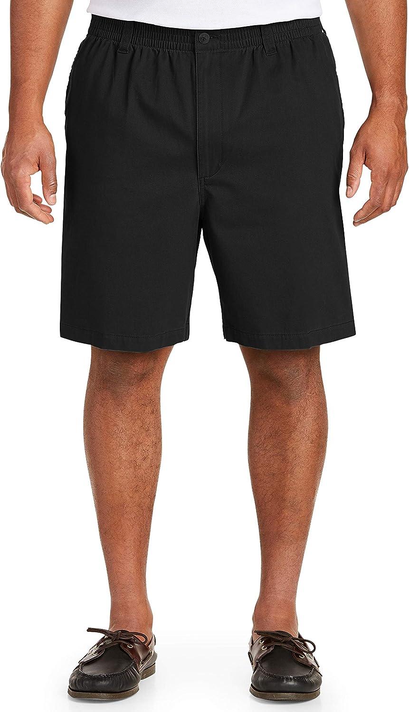 Harbor Bay by DXL Big and Tall Elastic-Waist Shorts