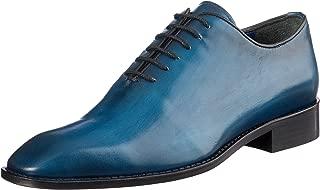Brando Men's Calder Lace-Up Flats Shoes, Blue Finisaj