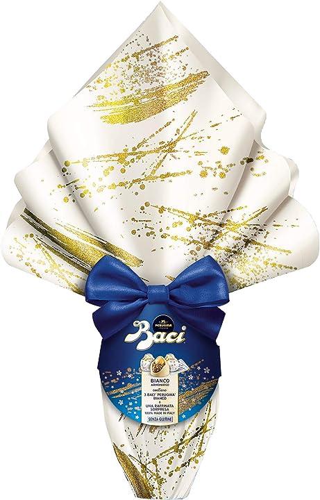 Uovo di pasqua baci perugina - cioccolato bianco special 252gr B083GT7DW2