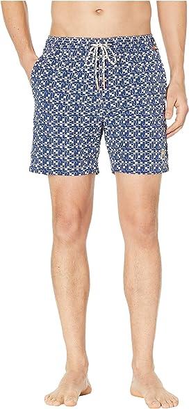 4ecdb557fc Ted Baker Alantic Geo Print Midi Swim Shorts at Zappos.com