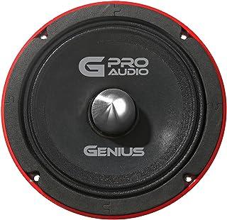 """Genius GPRO-M0265 6.5"""" 300 Watts-Max Midrange Car Audio Speaker 4-Ohms Aluminium Basket"""