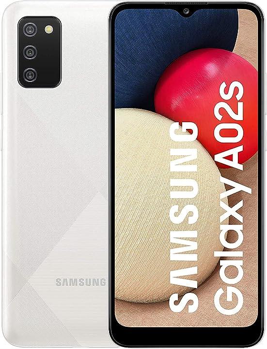 Smartphone samsung galaxy a02s 4g 6.5 pollici infinity-v hd + 3 fotocamere posteriori 3gb ram e 32gb memory SM-A025GZWEEUE