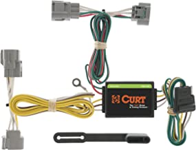 CURT 55513 Vehicle-Side Custom 4-Pin Trailer Wiring Harness for Select Toyota T-100 Pickup, Toyota Tacoma
