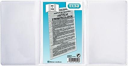 elba 100202644 etui carte grise europeenne en pvc 30 100