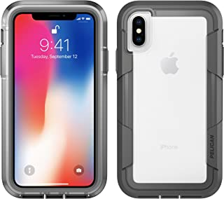 iPhone X Case | Pelican Voyager iPhone X Case (Clear/Grey)