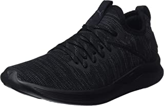PUMA Women's Ignite Flash Evoknit WN's Blk Shoes, Black