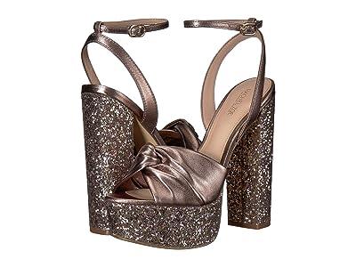 Rachel Zoe Claudette Glitter Platform Sandal (Blush Multi Glitter/Nappa) Women