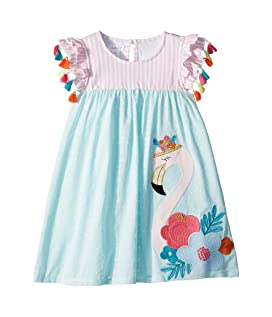 Flamingo Tassel Dress (Toddler)