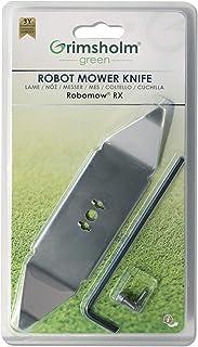 Robomow RX - Cuchilla de repuesto (incluye tornillos y llave)