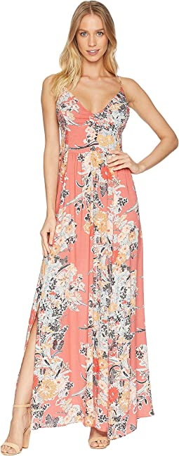 Through The Vine Printed Maxi