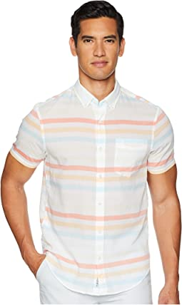 Short Sleeve Stripe on Lawn