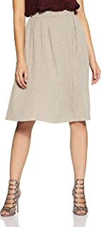 VERO MODA Women's Pleated Midi Skirt