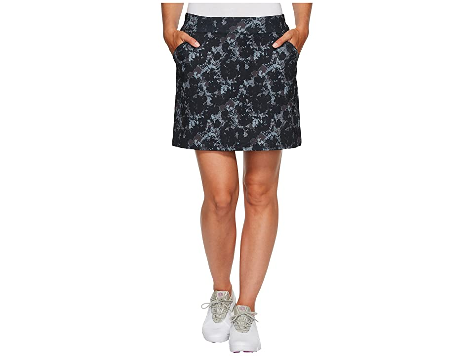 PUMA Golf Bloom Knit Skirt (Black 2) Women