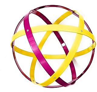 Genesa Crystal, Purificatore energia, Dispositivo orgonico 32 cm diametro, Giallo e Fucsia