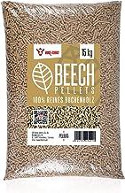 BBQ-Toro Beech Pellets aus 100% Buchenholz (15 kg)   Buchenpellets für Grill, Smoker,..