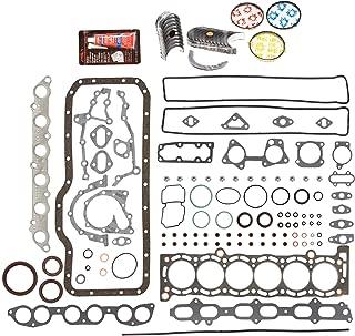 Evergreen Engine Rering Kit FSBRR2023EVE211 Fits 89-92 Toyota Cressida Supra 3.0 DOHC 7MGE Full Gasket Set, 0.25mm / 0.010