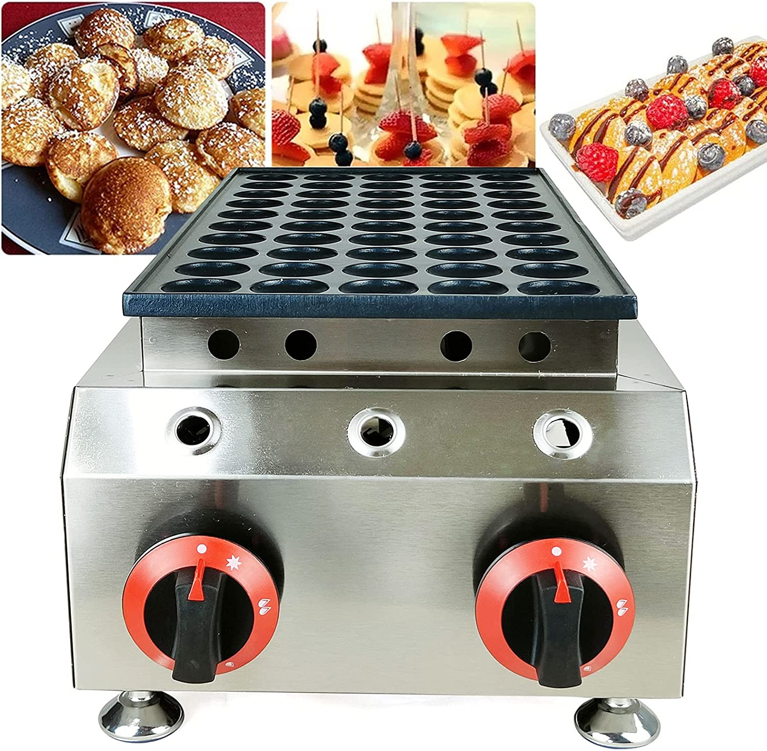 Commercial Dutch Don't miss the campaign Pancake Baker Tampa Mall Nonstick Waffle Maker Elect