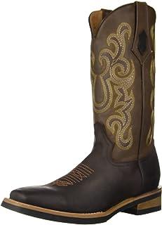 حذاء فيرريني الرجالي الغربي ذو طباعة على شكل تمساح عند الصدر
