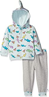 Rosie Pope Baby Boys' 2 Piece Pizza and Shark Set