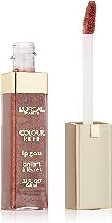 L'Oréal Paris Colour Riche Lip Gloss, Rich Brown, 0.23 fl. oz.
