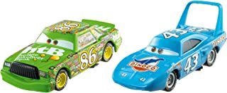 Disney Cars Character Car the King & Chick Hicks Toy Vehicle (2 Bundle Pack)
