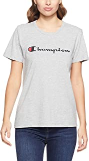 Champion Women's Script Short Sleeve Tee