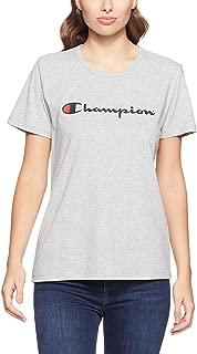Champion Women's Script Short Sleeve Tee
