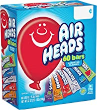 Airheads Candy Bars, Variety Bulk Box, Halloween Treat, Chewy Full Size Fruit Taffy, Gifts, Back to School for Kids, Non M...