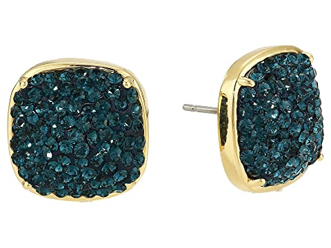 e18a9b4ffc6603 Kate Spade New York Clay Pave Small Square Studs Earrings at Luxury ...