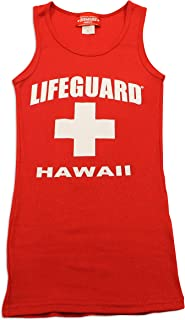 LIFEGUARD Maui Clothing Hawaii Womens Rib Tank Top