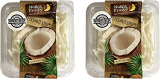 Nutty & Fruity, Dried Coconut Strips 6oz (pack of 2)
