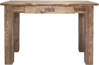 Montana Woodworks Homestead Collection Writing Desk, Stain and Lacquer Finish