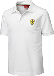 Ferrari White Size-92 Kids' Polo Shirt