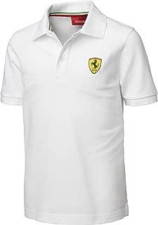 Ferrari White Size-116 Kids' Polo Shirt