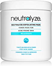 Neutralyze Exfoliating Pads | Maximum Strength Acne Treatment Pads With 2% Salicylic Acid + 1% Mandelic Acid + Nitrogen Bo...