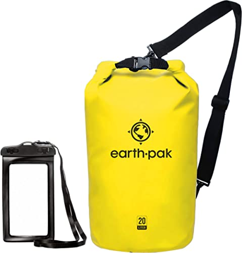 Earth Pak -Waterproof Dry Bag - Roll Top Dry Compression Sack Keeps Gear Dry for Kayaking, Beach, Rafting, Boating, H...