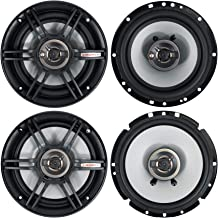 "(2) Crunch CS653 6.5"" Car Audio 3-Way Speakers 300 Watts Max 6 1/2"" Inch Bundle with (2) Crunch CS65CXS 6.5"" Car Audio Sha... photo"