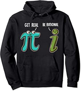 Be Rational Get Real Funny Math Joke Statistics Pun パーカー