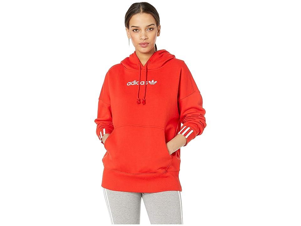 adidas Originals Coeeze Hoodie (Active Red) Women