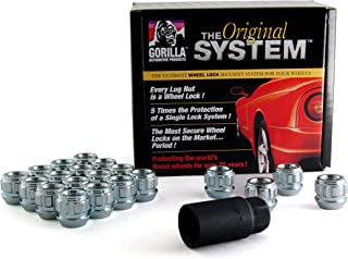 Gorilla Automotive 78643 Acorn Open End Wheel Locks (14mm x 1.50 Thread Size)