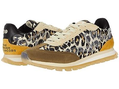 Marc Jacobs The Leopard Joggers Sneaker (Brown Multi) Women