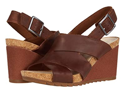 Clarks Flex Sand (Light Tan Leather) Women