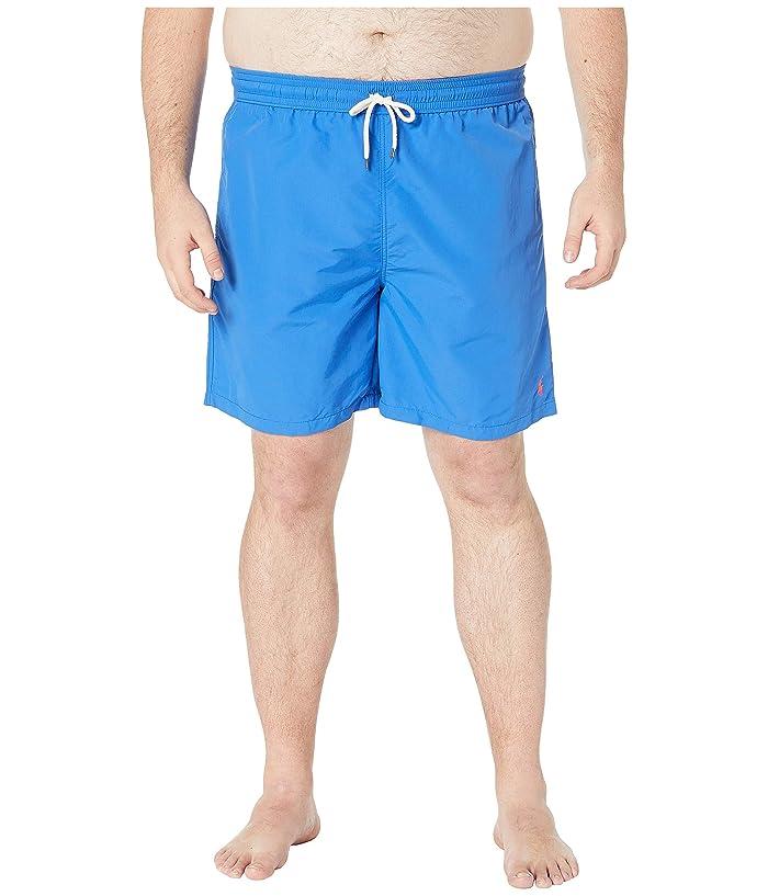 Polo Ralph Lauren Big & Tall Big Tall Nylon Traveler Shorts (New Iris Blue) Men