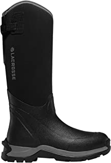 """حذاء عمل LaCrosse للرجال Alpha Thermal 16"""" لون أسود، مقاس 10 M US"""