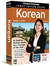 Learn Korean: Instant Immersion Family Edition Language Software Set  - 2016 Edition